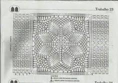 Ковры: лучшие изображения (9) | Crochet carpet, Crochet Doilies и ...