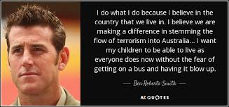 QUOTES BY BEN ROBERTS-SMITH | A-Z Quotes via Relatably.com