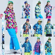 <b>Boys Girls Ski Jacket</b> Various Colors Snowboarding Jackets Kids ...