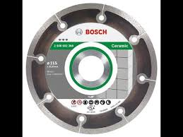 Диск 115 <b>Bosch Best</b> for Ceramic Extraclean - YouTube