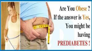 Image result for pre diabetes symptoms