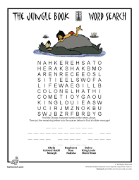Small Picture Disneys Jungle Book Free Printables Activities Coloring pages
