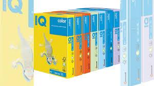 <b>Цветная бумага IQ</b> Color в ассортименте купить в Саратове ...
