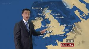 other weather presenters believed to be employed by the met office include alex deakin pictured bbc sydney offices office
