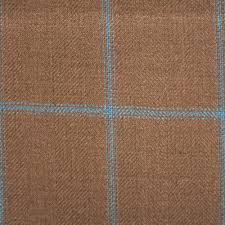 light brown and blue dormeuil wool linen and silk jacketing fabric brown linen fabric lighting