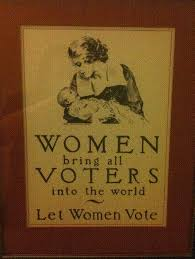 「It wasn't until 1919 that American women finally gained the right to vote.」の画像検索結果