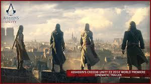 <b>Assassin's</b> Creed Unity E3 2014 World Premiere Cinematic Trailer ...