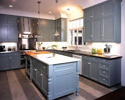 painted blue kitchen cabinets house:  blue cabinets pleasant gray kitchen design with blue gray painted shaker kitchen cabinets
