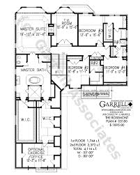 rosemont house plan courtyard house plans Coastal Ranch House Plans rosemont house plan 05180,2nd floor plan coastal ranch home plans