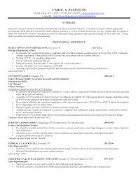 qa manager resume   ceplok you need a resumeregulatory affairs cover letter quality assurance manager resume