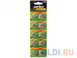 <b>Батарейки Perfeo LR44/10BL</b> Alkaline Cell 357A AG13 LR44 10 шт