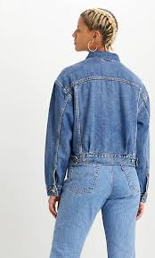 <b>New Heritage</b> Trucker Jacket - Medium Indigo | <b>Levi's</b>® AT