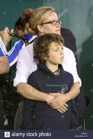 Photo of Elisabeth Shue & her Son Miles William Guggenheim