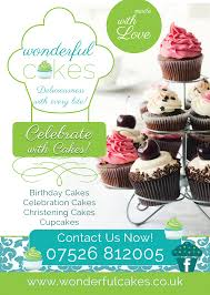 cake shop bakery marketing flyer more on instagram wonderful cakes flyer design