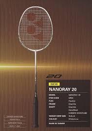 Yonex Nanoray 20