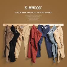 Simwood Brand <b>Autumn Winter New</b> Fashion 2019 Slim Straight ...