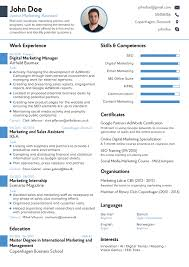 novorésumé   résumé templates tailored for your jobprofessional résumé template