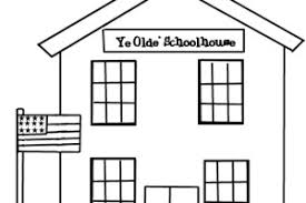 Small Picture School House coloring pages Clipart Panda Free Clipart Images