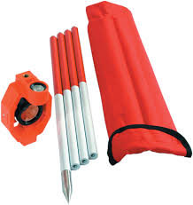 Brand New <b>Mini Prism</b> with 4 Poles For Leica <b>Total Stations prism</b> ...