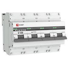 <b>Автоматический выключатель EKF PROxima</b>, модульный, 4п C ...