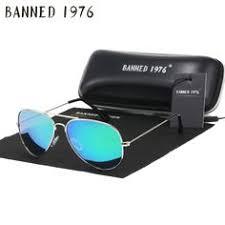 Vintage <b>Pilot Sunglasses Women</b> Men Shades Retro Classic Black ...