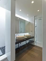 led light in bathroom