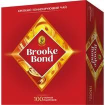 <b>Чай черный Brooke Bond</b> в пакетиках 1,8 г 100 шт купить с ...