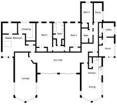 Contemporary self build house plan   Self build co uk  bed house plans sinclair png