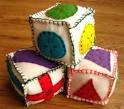 Мягкие кубики выкройки