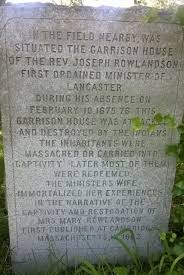 mary rowlandson s tragic story words a day though not obviously marked i went by mary rowlandson s description of where the garrison house was located ldquothe house stood upon the edge of a hill rdquo