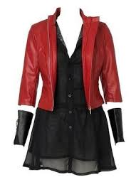 Avengers 2 Age of Ultron <b>Scarlet Witch cosplay costume</b> ...