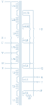 quad ii valve power amplifier information picture quad ii power amp output transformer winding diagram