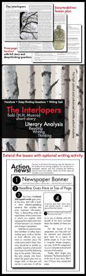 interlopers saki short story min lesson lit analysis use the classic short story the interlopers by saki h h munro
