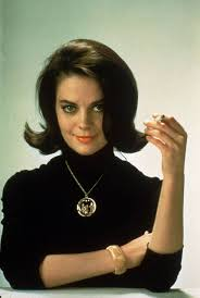 Natalie Wood smoking a cigarette (or weed)