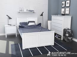 Kids Bedroom Furniture Packages Dandenong Bedroom Suites King Single White B2c Furniture