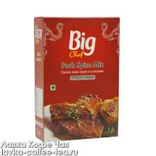 "<b>Big Chef</b> ""Pork Spice Mix"" <b>Смесь специй</b> для свинины в карри 100 г"