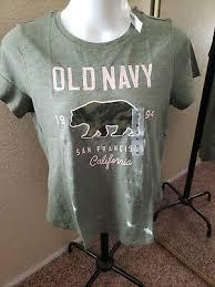 Old Navy новый с ценниками XL зеленый экипажа шеи <b>футболка</b> ...
