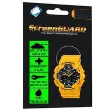 <b>Military Grade Anti</b>-<b>Shock</b> Film for Casio Watch G-Shock Analogue ...