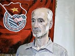 YEVGENIY FIKS Portrait of Gabe Falsetta, Communist Party USA, 2007 oil on canvas 36 x 48 inches - GabeFalsetta_sm