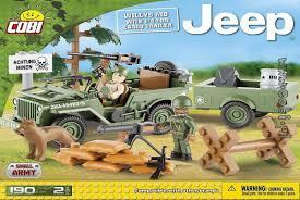<b>Конструктор COBI Jeep Willys</b> MB with 1/4 Ton Cargo Trailer ...