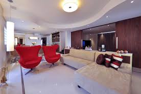 interior designs attractive bright colors for living room walls with modern red armchair and luxury interior design ideas bright color home interior with bright colorful home