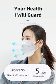 <b>10pcs KN95</b> Protective <b>Mask N95</b> FFP2 Dust-proof Disposable Face ...