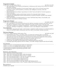 military level resume samples armed forces resume samples 2