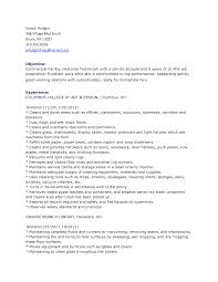 janitorial resume cipanewsletter janitorial resume janitor resumes samples janitor job resume