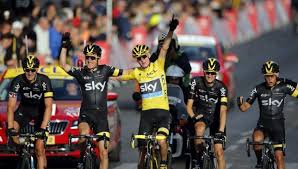 Image result for Who won 102nd Tour de France title - Team Sky cyclist Chris Froome of Britain