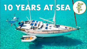 Living on a Self-Sufficient <b>Sailboat</b> for 10 Years + FULL TOUR