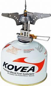 Газовая <b>горелка KOVEA</b> TKB-<b>0101 Titanium</b> Stove