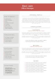 cv template jobsblast cv template office manager