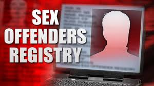 Image result for sex offenders register