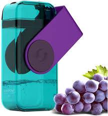 "<b>Бутылка</b> Asobu ""<b>Juicy drink box</b>"", цвет: фиолетовый, 290 мл"
